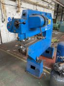 Pullmax Notching Machine, 650mm deep-in-throat to spindle. Please read the following important