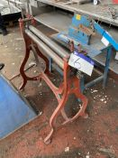 Approx. 800mm wide Triple Roll Bending Machine. Please read the following important notes:-