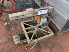 DeWalt DW8003 Radial Arm Saw, with approx. 250mm dia. blade. Please read the following important