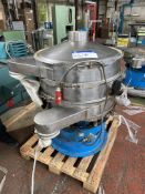 Vibrowest 200.4 VIBRATORY SCREEN. Please read the following important notes:- Assistance will be