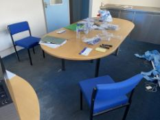 Residual Loose Office Furniture Contents of Room. Please read the following important notes:-