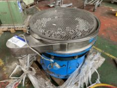 Vibrowest 200.4 Vibratory Screen (incomplete). Please read the following important notes:-