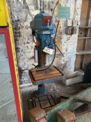 Elliott Progress 3A Pillar Drill, serial no. 25664 623, approx. 500mm swing. Please read the
