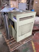 Powrmatic EURO 100 Gas Fired Suspended Space Heater, 37.7kW heat input. Please read the following