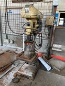 Fobco ½in. cap. Bench Drill, serial no. 36582, 240V (bench excluded). Please read the following
