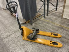 Jungheinrich Hand hydraulic pallet truck 2200kg capacityPlease read the following important notes:-