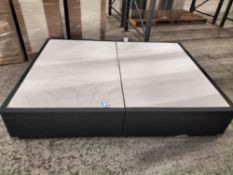 Eight BrightHouse grade A refurbished Dreamluxe 5ft divan beds, asset numbers 7505201848140,
