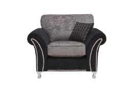 Four BrightHouse grade B refurbished Langham chairs, asset numbers 7446168781920, 7374177418318,