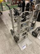 Two Cosco 3 in 1 hand trucksPlease read the following important notes:-Collections will not