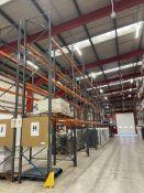 Dexion Speedlock/ Storax SP80 Ten Bay Three Tier Pallet Rack, approx. 5.9m high x approx. 25.8m