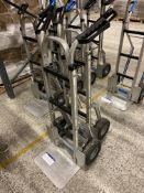 Two AluTruk sack trucks Please read the following important notes:-Collections will not commence