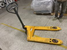 Jungheinrich Hand Hydraulic Pallet Truck, 2200kg capacityPlease read the following important