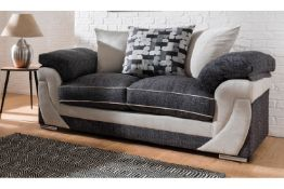 Mixed lot of Five BrightHouse grade B refurbished sofas including a Hannah two seater and four