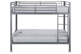 Three BrightHouse grade A refurbished Sky metal framed bunk beds (mattresses not included), asset