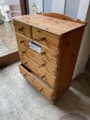 Chest of Drawers, approx. 800mm x 400mm x 1.1m hig