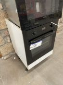 Hotpoint Electric Oven, with fitted cabinet, appro
