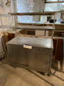 Parry Mobile Stainless Steel Heating Cabinet, with