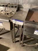 Stainless Steel Two Tier Bench, approx. 650mm x 30