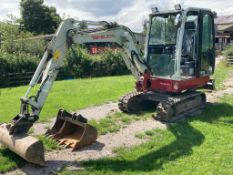 Takeuchi TB230 2875kg TRACKED COMPACT EXCAVATOR, s