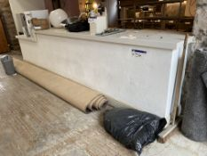 Two Tier Restaurant Counter, approx. 4.5m x 800mm