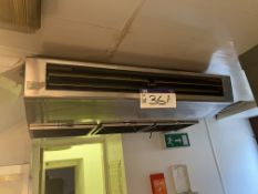Stainless Steel Air Conditioning Unit, approx. 1.1
