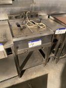 Parry Twin Basket Electric Deep Fat Fryer, approx.