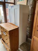 Double Door Wardrobe, approx. 800mm x 500mm x 1.8m