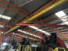 Crane Express Services 1.25T Overhead Runway, reference no. CE144, approx. 20m long, no carriage