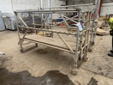 Mobile Tubular Alloy Platform, 2.4m longPlease read the following important notes:- Removal of Lots: