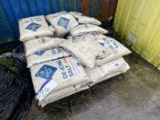 Approx. 21 Bags Peacock x 25kg De-Icing SaltPlease read the following important notes:- Removal of