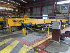 Crane Express Services 13.5T + 13.5T PIPE LIFTING SPREADER BEAM, approx. 15.7m long, reference no.