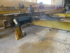 Crane Express Services 2 x 14,000kg SWL Pipe Lifting Spreader Beam, approx. 15m long, with lifting