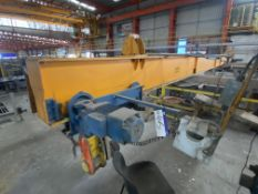 Crane Express Services 13.5T + 13.5T PIPE LIFTING SPREADER BEAM, approx. 15.7m long, serial no.