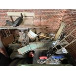 AEC Mandator Chassis, Engine & Gearbox, 1940's, total restoration project (this lot is subject to