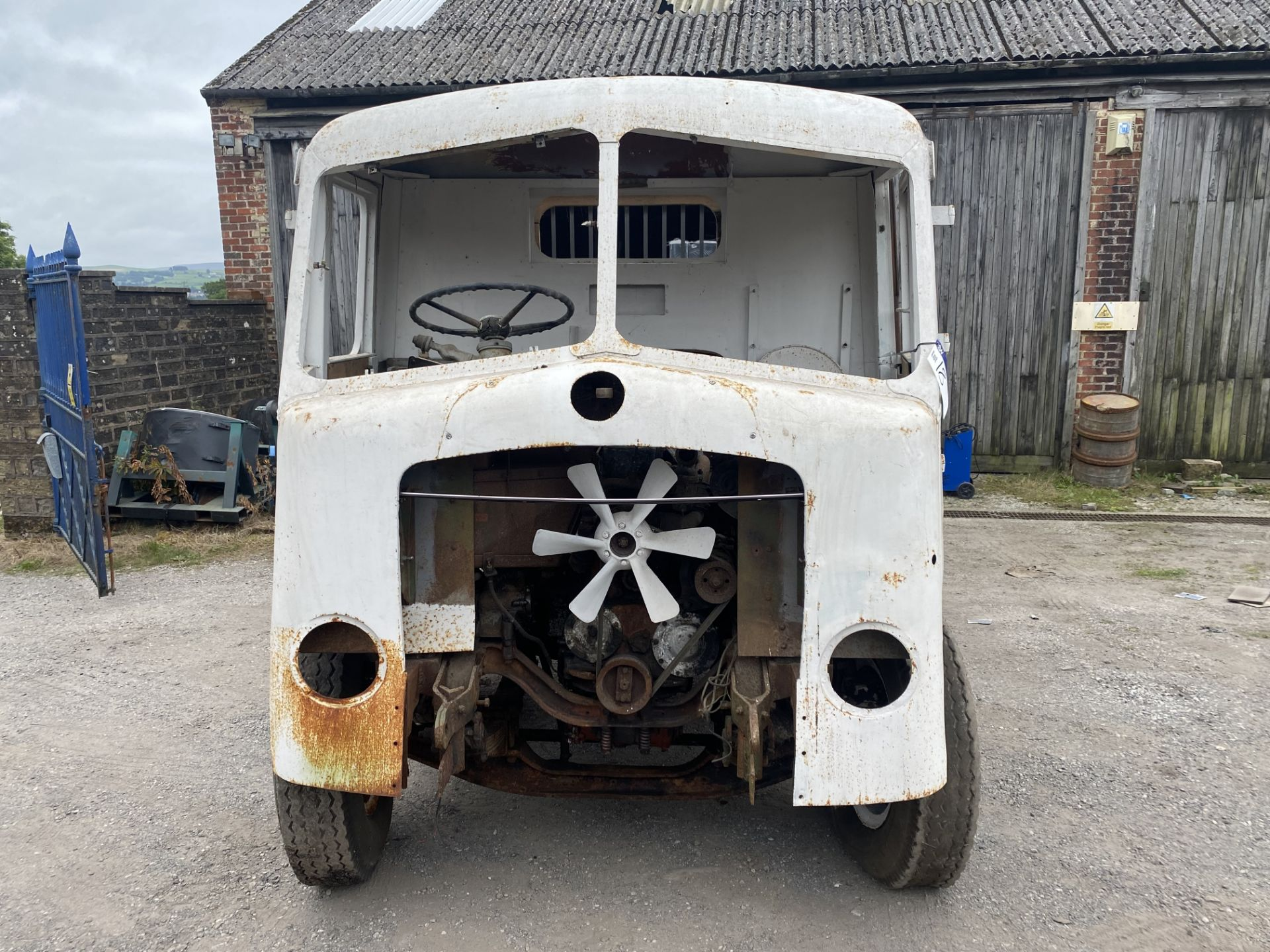 AEC Mammoth Major 8x4 Rigid Timber Dropside Truck, partially restored, with quantity of spare - Image 6 of 21