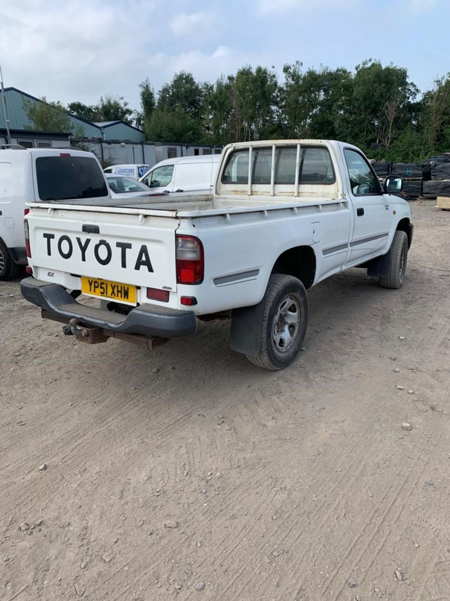 ToyotaHilux 2.5 2504WD MWB Diesel Pickup Truck, registration no.YP51 XHW, date first registered - Image 4 of 6