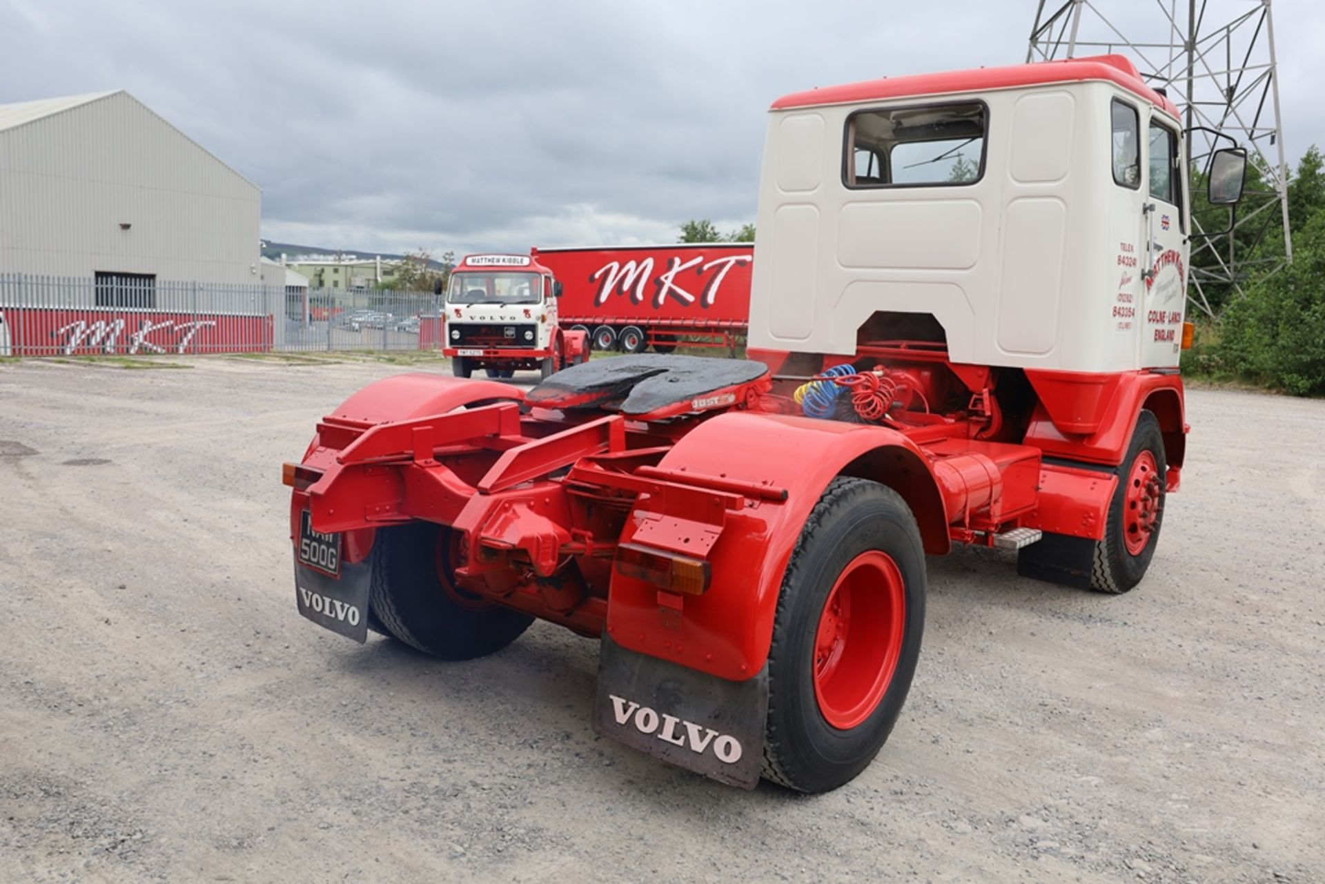 Volvo F88.240 4X2 TRACTOR UNIT, registration no. NAW 500G, date first registered 13/08/1968, fully - Image 4 of 11