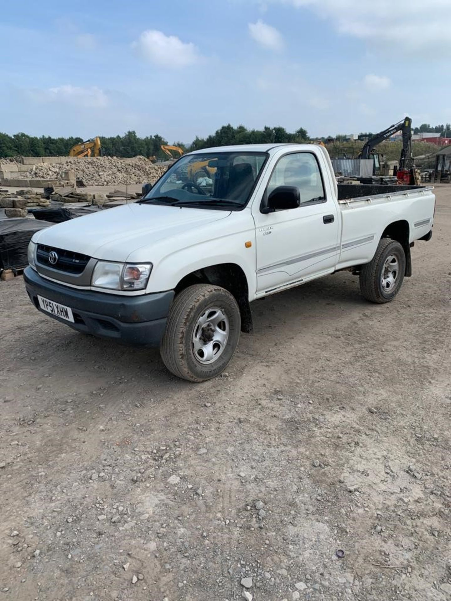 ToyotaHilux 2.5 2504WD MWB Diesel Pickup Truck, registration no.YP51 XHW, date first registered - Image 2 of 6