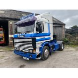 Scania 113M360 4X2 TRACTOR UNIT, registration no. M471 MOJ, date first registered 06/10/1994,