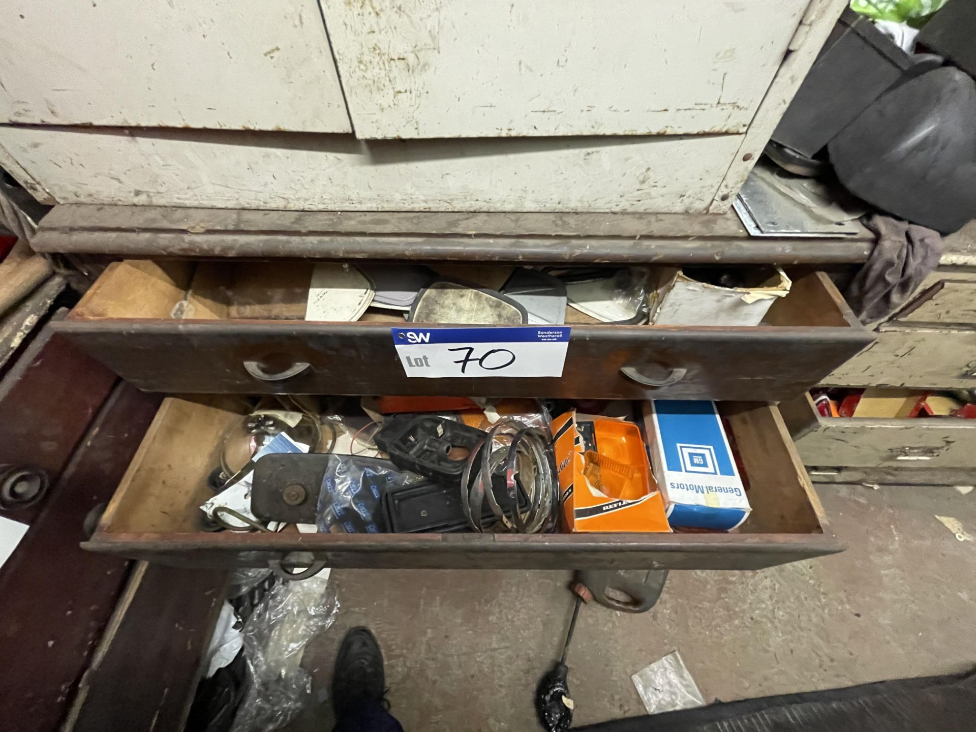 Chest of Drawers, with contents(this lot is subject to 15% buyer's premium)Please read the - Image 2 of 2