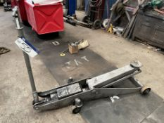 Five Ton Trolley Jack(this lot is subject to 15% buyer's premium)Please read the following