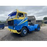 Volvo F89 4x2 Tractor Unit, 1975, left hand drive, (this vehicle does NOT have a V5) vendors