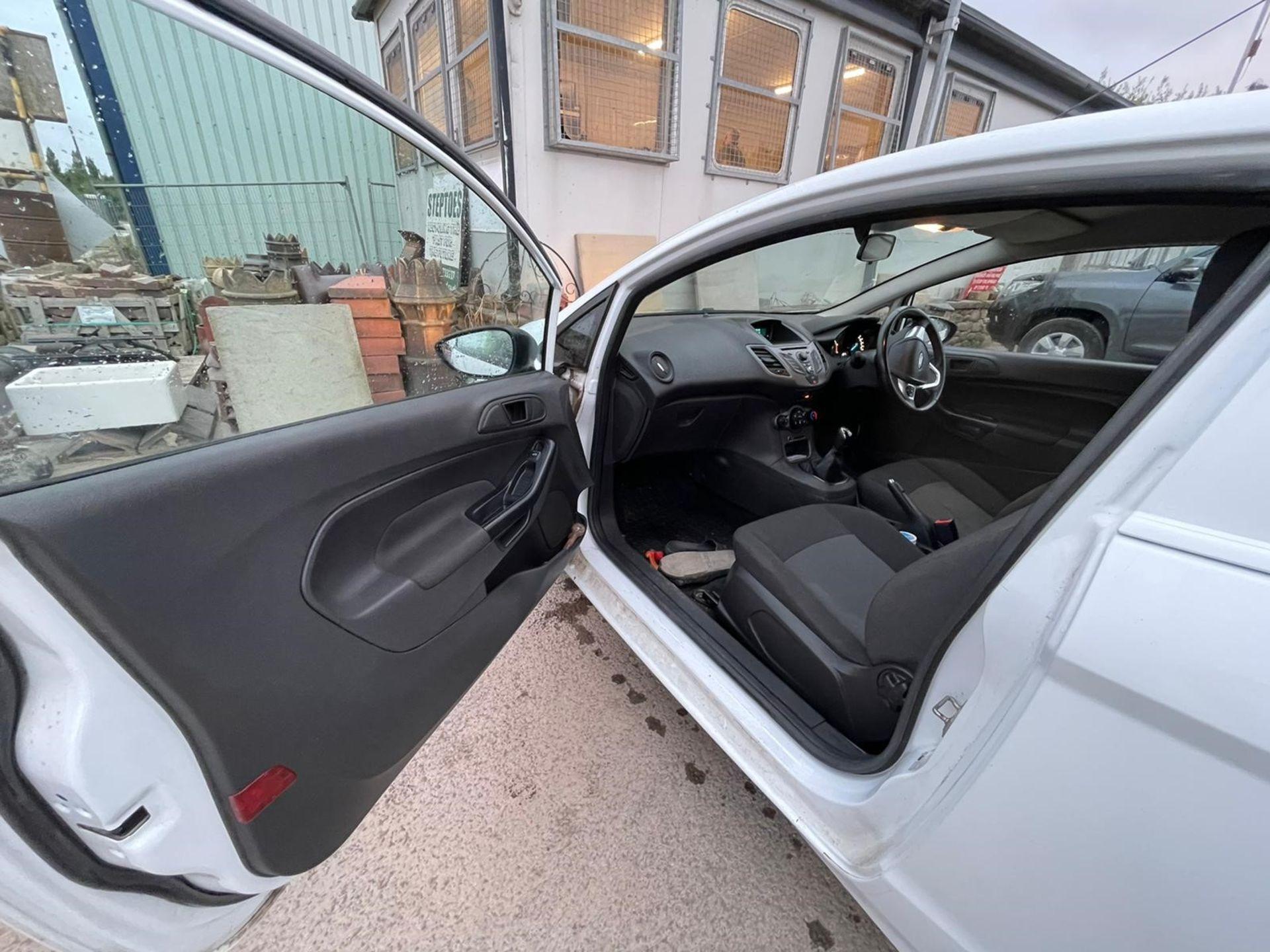 Ford Fiesta Econetic Tech TDCI Diesel Car Derived Van, registration no. YR14 XGW, date first - Image 4 of 5