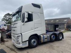 Volvo FH V4 460 GTXL 6X2 TRACTOR UNIT, registration no. PG15 FKK, date first registered 01/05/