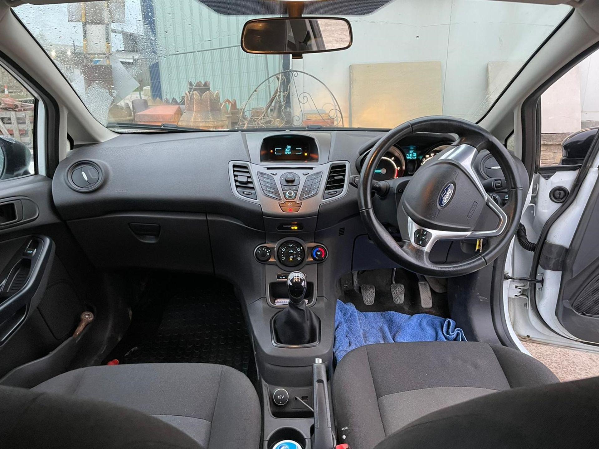 Ford Fiesta Econetic Tech TDCI Diesel Car Derived Van, registration no. YR14 XGW, date first - Image 5 of 5