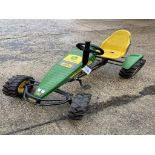 John Deere TRAXX Ride-On Toy Tractor(this lot is subject to 15% buyer's premium)Please read the