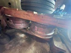 Four Alcoa Aluminium Rims(this lot is subject to 15% buyer's premium)Please read the following