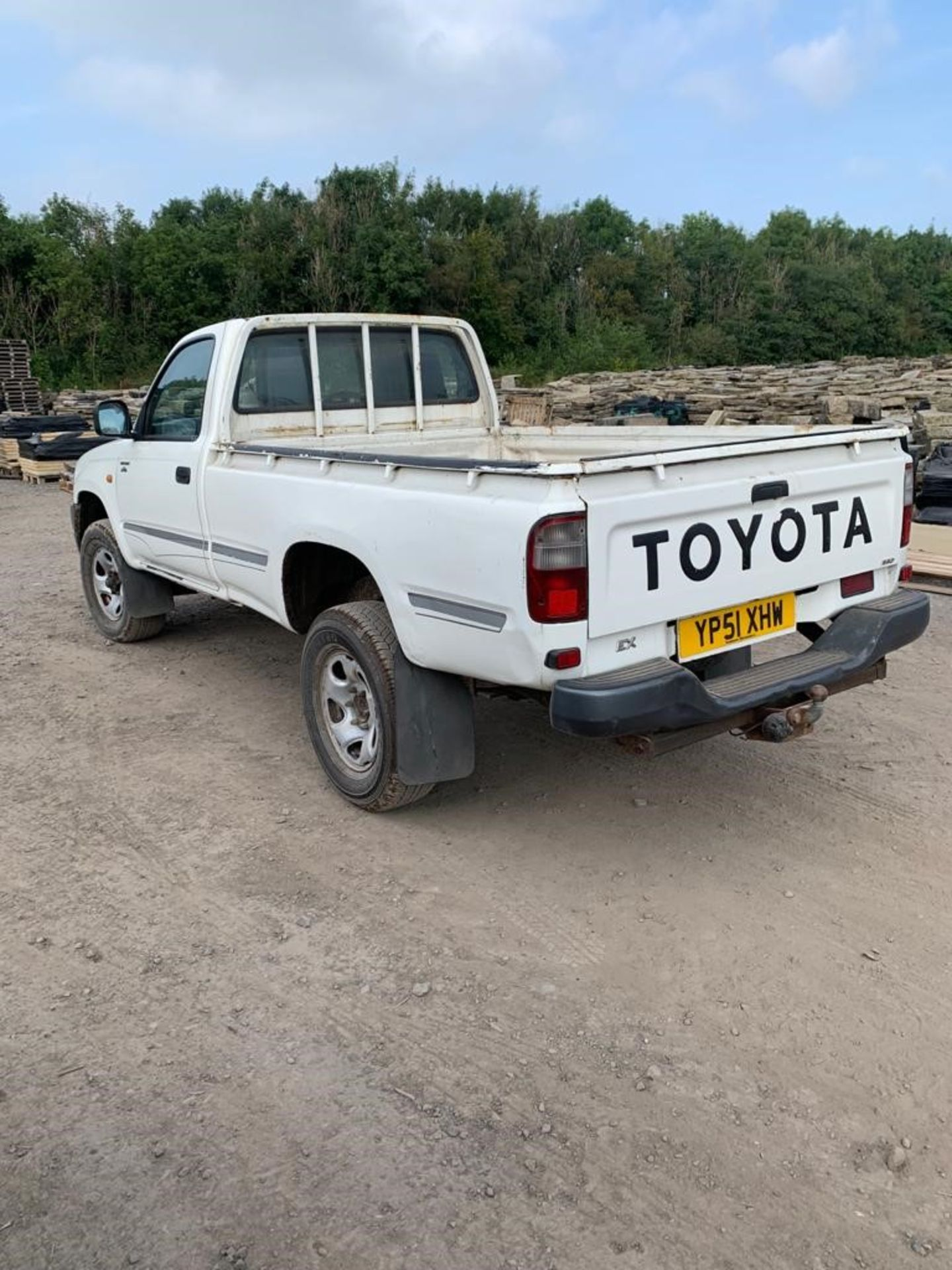 ToyotaHilux 2.5 2504WD MWB Diesel Pickup Truck, registration no.YP51 XHW, date first registered - Image 3 of 6