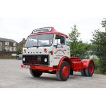 Volvo F86 4X2 TRACTOR UNIT, registration no. YWT 527S, date first registered 01/02/1978, fully