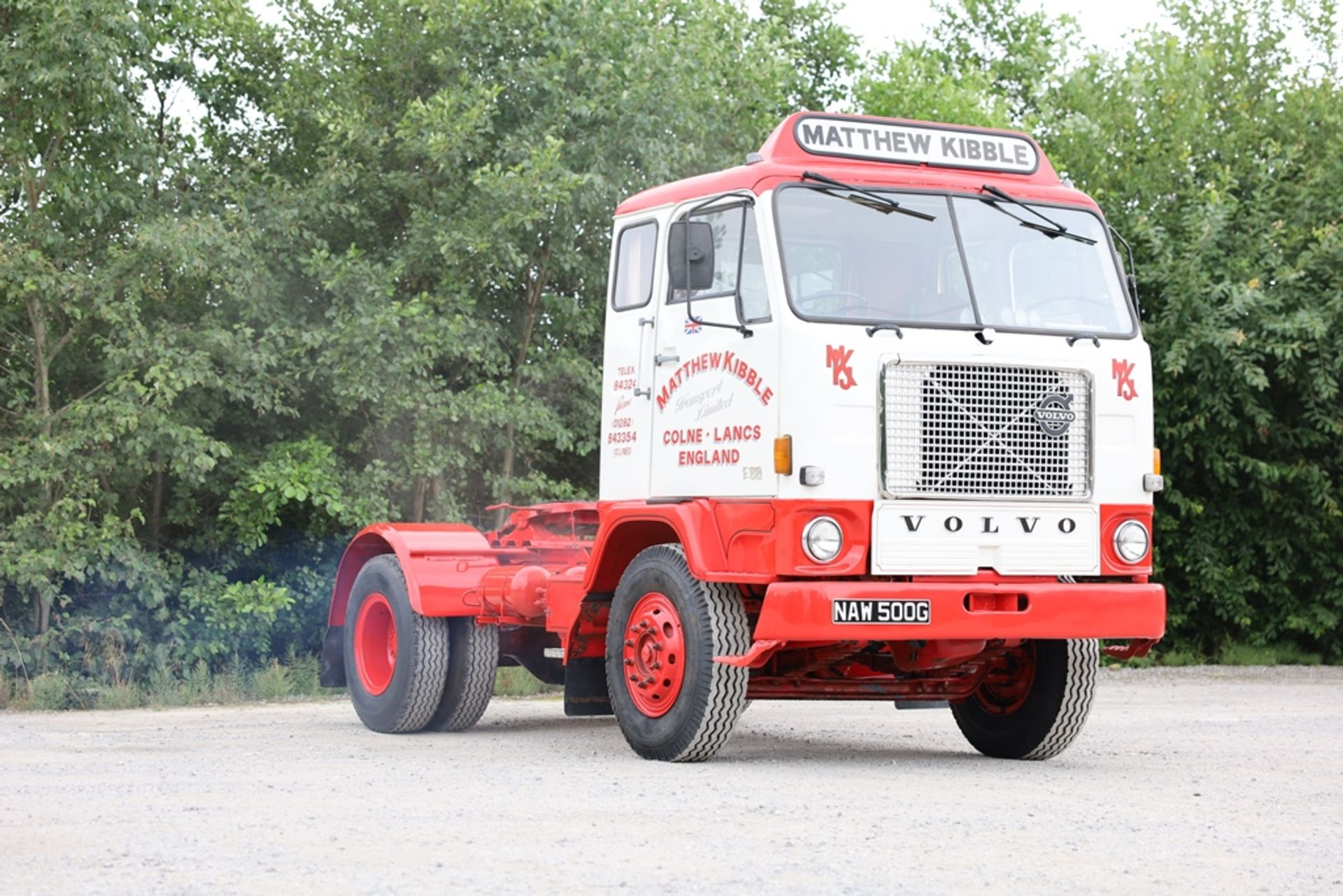 Volvo F88.240 4X2 TRACTOR UNIT, registration no. NAW 500G, date first registered 13/08/1968, fully